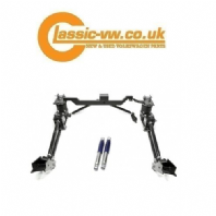 Mk1 Golf Caddy Rear 4 Link Frame With Air Bags + Adjustable Dampers (From 1987)